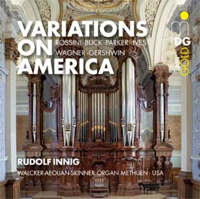 Variations on America Cover